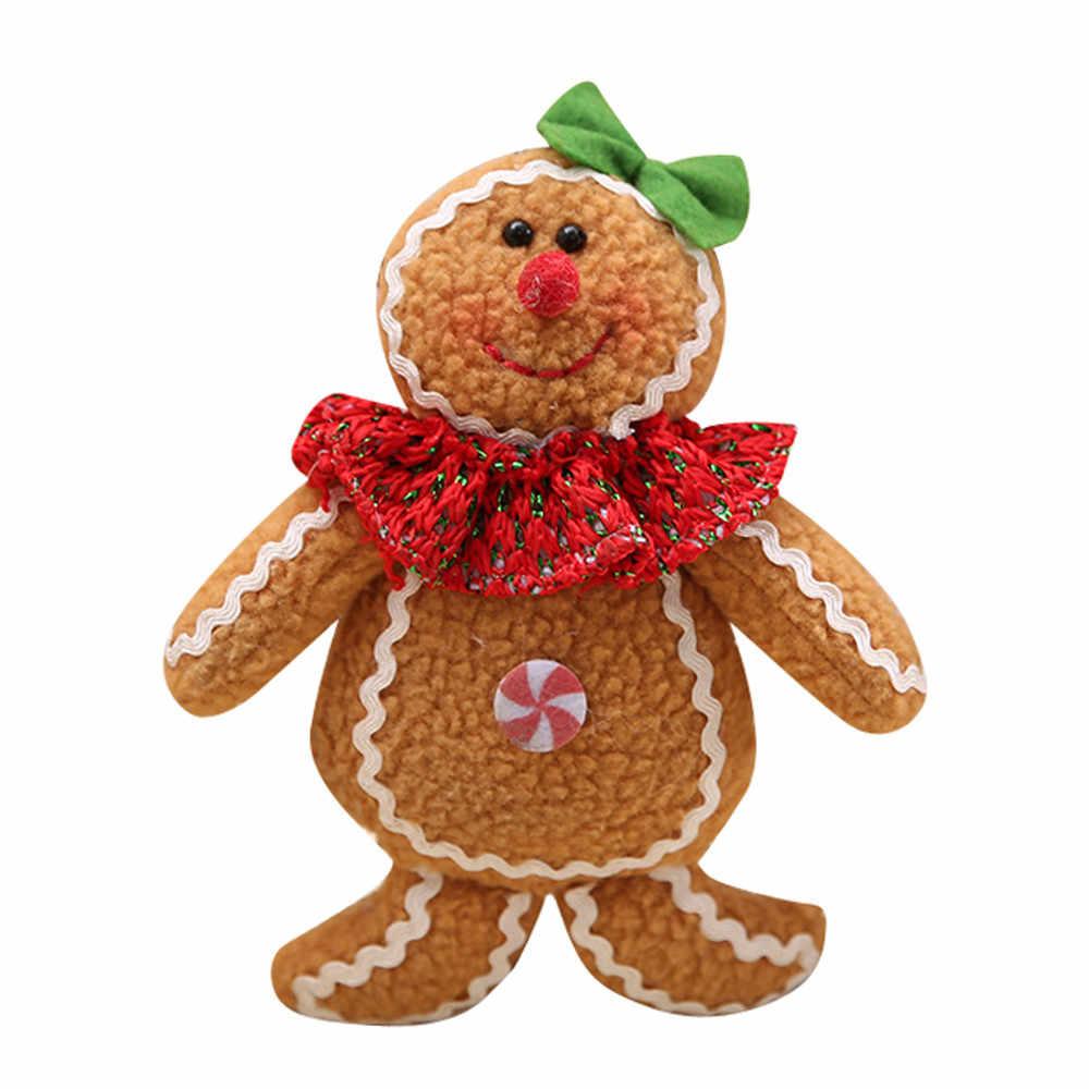 2019 горячие новые милые стили дизайн Рождественская елка Висячие пряники Мужские украшения кукла рождественский дом Висячие подарки