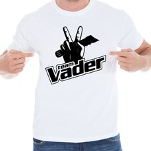 Team vader 2016 New Fashion Summer design funny tee cute t shirt homme men's cool tshirt lovely top TX-3