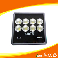 2pcs 85 265v IP65 Waterproof Flood Lights 90degree Refletor 400w flat Led Flood light Outdoor Light 110V 220V Garden Lighting