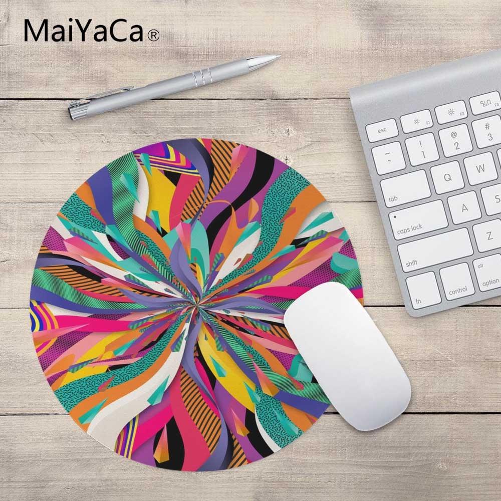 MaiYaCa Polka Dot Nieuw Klein formaat rond muismat Antislip rubberen - Computerrandapparatuur - Foto 3