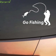 Auto Go Fishing Design car Body Sticker Waterproof vehicle car styling car-covers personality auto accessories Au 25