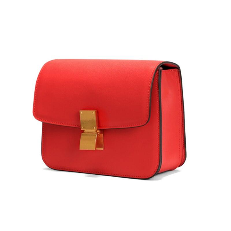 A1335 genuine napa leather handbags ladies crossbody designer small flap bags women stewardess famous brand Classic box bag