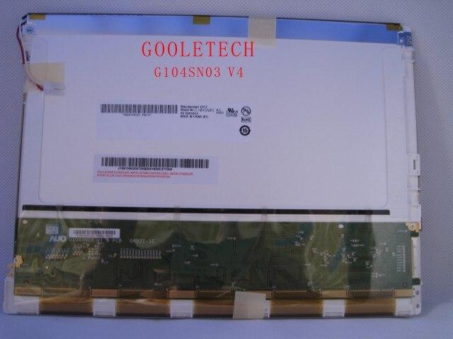 Electronic Components & Supplies 10.4 Inch Lcd Panel G104sn03 V4 Lcd Display 1280 Rgb*1024 Sxga Led Lcd Screen 1 Ch 6-bit 230 Cd/m2