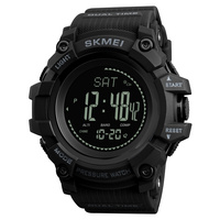 SKMEI Mens Sports Watches Altimeter Barometer Compass Thermometer Weather Clock Edometer Calories Casual Digital WristWatch 1358