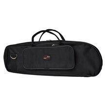 Wholesale 5* New Nylon Gig Bag Trumpet Soft Case Handbag Black