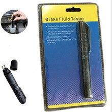 Universal mini eletrônico freio líquido líquido tester caneta 5 leds oisture ferramenta de água teste caneta calibrada