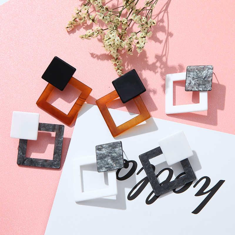 2019 New Women's Earrings Acetate Fiber Color Boho Retro Fashion Drop Earrings Suitable For Wedding Jewelry Girl Gifts wholesale