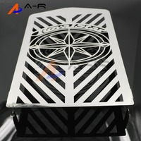Motorcycle Engine Radiator Cover Bezel Grille Guard Protector For YAMAHA XVZ13 XVZ 13 Royal Star XVZ1300