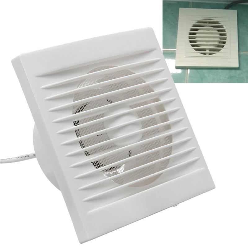 220 V Hängen Wand Weiß Ventilador Kleine Ventilator Extractor  Abluftventilatoren Wc Badezimmer Küche Fan Loch Größe 110x110mm 40 Watt