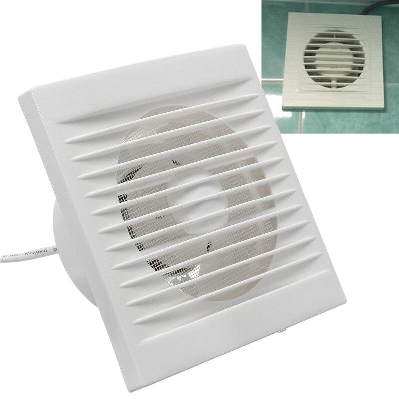 220 v pendurado parede branco ventilador pequeno exaustor ventilador ventiladores de exaustão banheiro cozinha ventilador tamanho do furo 110x110mm 40 w