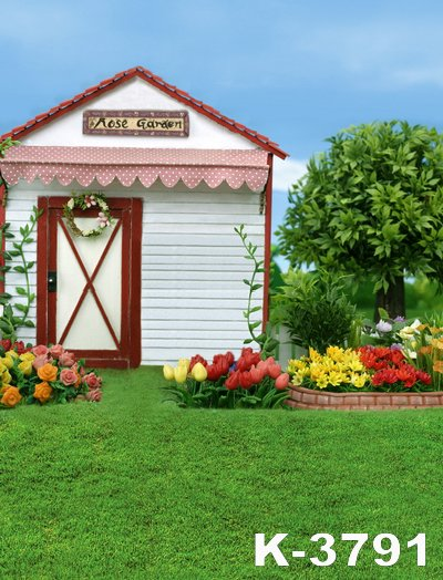 Popular Rose Garden Backdrop Buy Cheap Rose Garden Backdrop lots