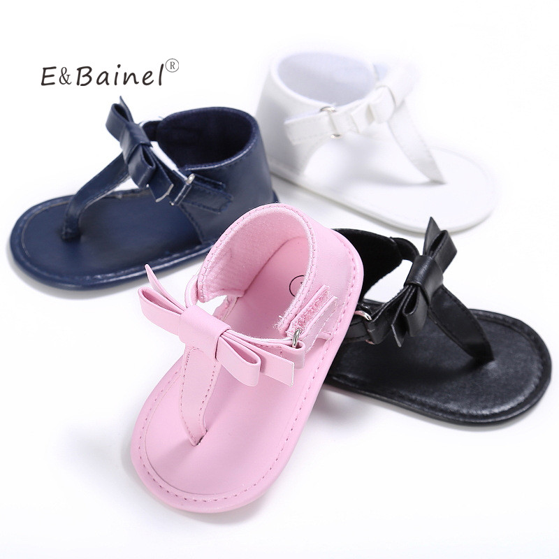 Solid Soft Sole Baby Girls Shoes Toddler Infant Mary Jane ...
