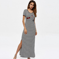 Europe And The United States Women S Knit Dress In The Summer Of 2017 The New