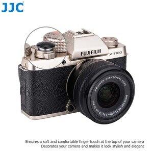 Image 4 - Pegatinas adhesivas de botón disparador para Panasonic DC G100 G110 Sony a7C a7S III ZV1 RX100 II III IV V VI Fuji XT1 XT100 X70