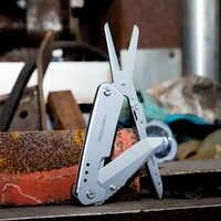 Odkryty składany nóż survivalowy nożyczki Camping piesze wycieczki narzędzia edc Roxon nowy projekt przetrwać noże Multi nożyczki