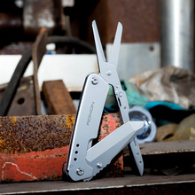 Складной нож для выживания на открытом воздухе, ножницы для кемпинга, походов, EDC, многофункциональные инструменты Roxon, новый дизайн, ножи для выживания, многофункциональные ножницы