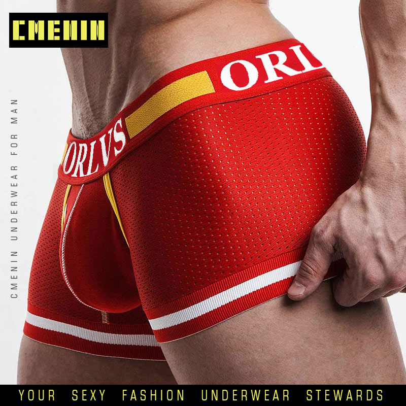 2019 Sexy Underwear Men Boxer Men's Sexy Underpants For Man Panties Comfortable Breathable cuecas Sexy Cueca Boxers Men