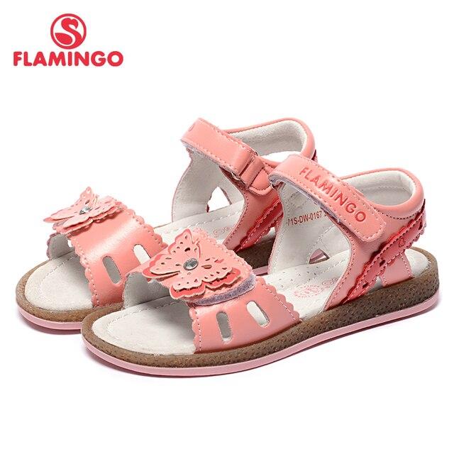 Фламинго известные бренды Новинка 2017 прибытие Весна и лето Детская мода высокого качества сандалии для девочек 71s-dw-0165/0166/0167