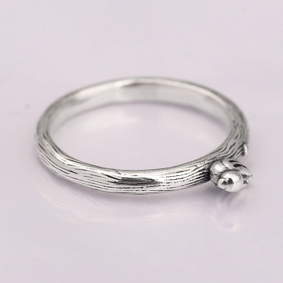 2df3b51c0 Authentic 925 Sterling Silver Ring Spring Song Bird Rings For Women Wedding  Party Gift Fine Pandora Jewelry-in Rings from Jewelry & Accessories on ...