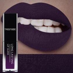 24 Color Liquid Lipstick Waterproof Makeup Long Lasting Mate Make Up Nude Lip Gloss Red Purple Blue Black Ultra Matte Lipsticks