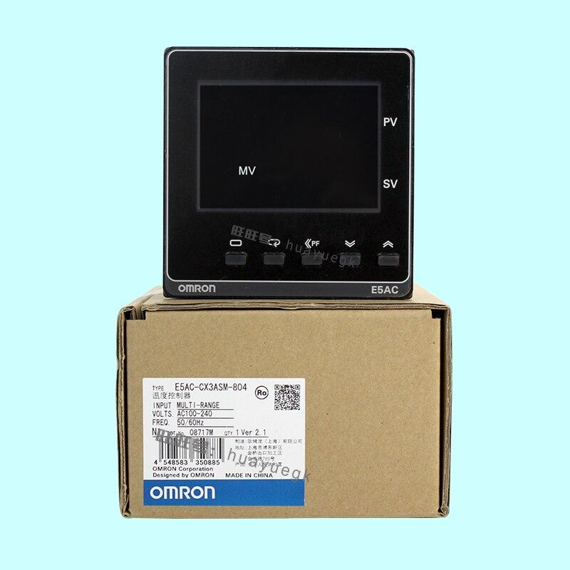 Original authentic OMRON electronic thermostat digital regulator E5AC-RX3ASM-800 E5AC-QX3ASM-800 808 CX800 804 original authentic regulator arb250 00 a