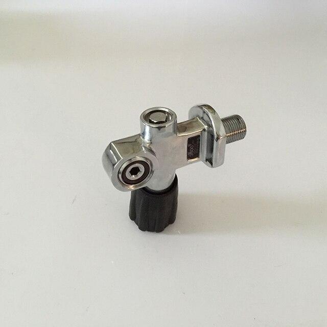 New Updated  Diving Cylinder Valve SCUBA Tank Valve HP Regulator Valve Switch Oxygen Tank Respirator