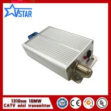 China, el proveedor de 1310nm catv transmisor óptico 10 mw