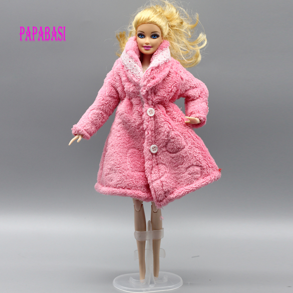 Pink Special offer fashion the Winter big coats original clothes for barbie doll 1/6 dress clothing Leisure Suit eg040 offer wings xx2449 special jc australian airline vh tja 1 200 b737 300 commercial jetliners plane model hobby