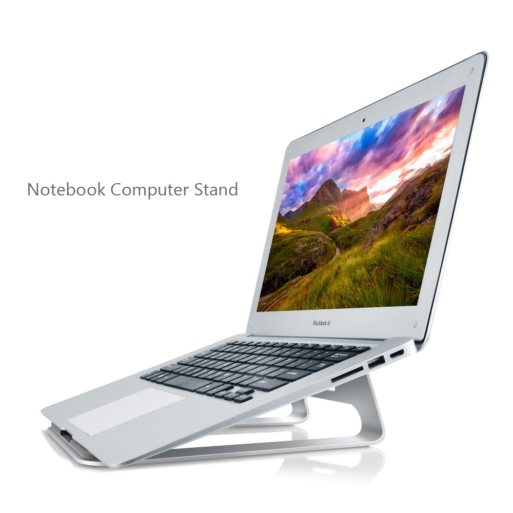 ФОТО New Laptop Table Stand Aluminium Alloy Xiaomi Mi Notebook Suporte Mesa Para Stand For Macbook Tablet