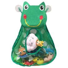 Bath Toy Organizers,Kids Storage Caddy,Bathtub Bags For Baby Toddlers,Bathroom Net Bag With 3 Strong Sucti