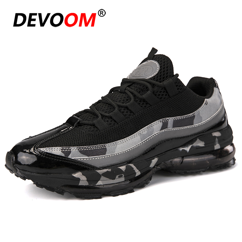 2019 Running Shoes for Men Comfortable Brand New Sneakers Men Lace up Outdoor Mesh Fitness Jogging