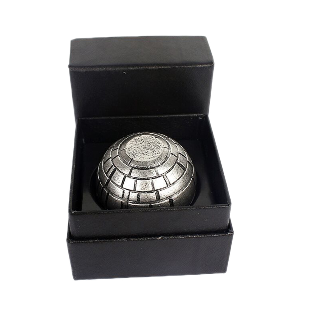 Star Wars Death Star Grinder Ashtrays Zinc Alloy Cigarette Accessories Herb Spice Crusher Smoke Grinder Ashtrays
