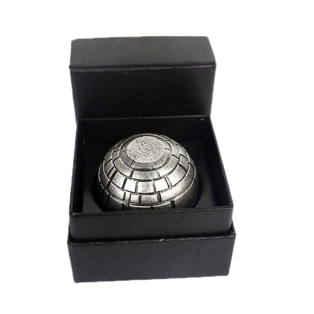 Star Wars Death Star Grinder Ashtrays Zinc Alloy Cigarette Accessories Herb Spice Crusher Smoke Grinder Ashtrays