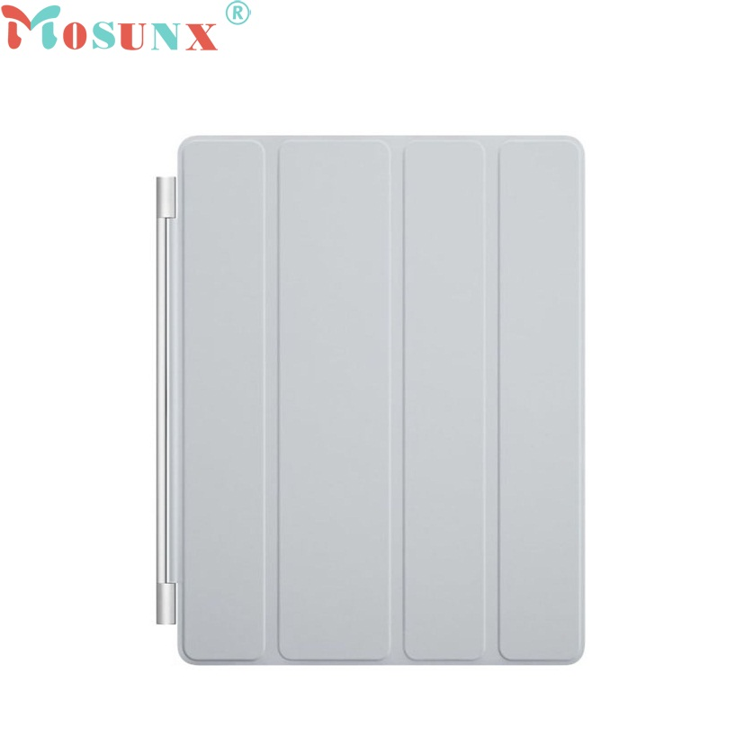 2016 New Fashion Ultra Thin Magnetic Leather Smart Cover Case for iPad 2 3 4 Sep8 nice soft silicone back magnetic smart pu leather case for apple 2017 ipad air 1 cover new slim thin flip tpu protective case