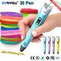 myriwell 3d pen 3d model,LED display,ABS/PLA Filament,3d printing pen Best Gift for Kidspen-3d print pen