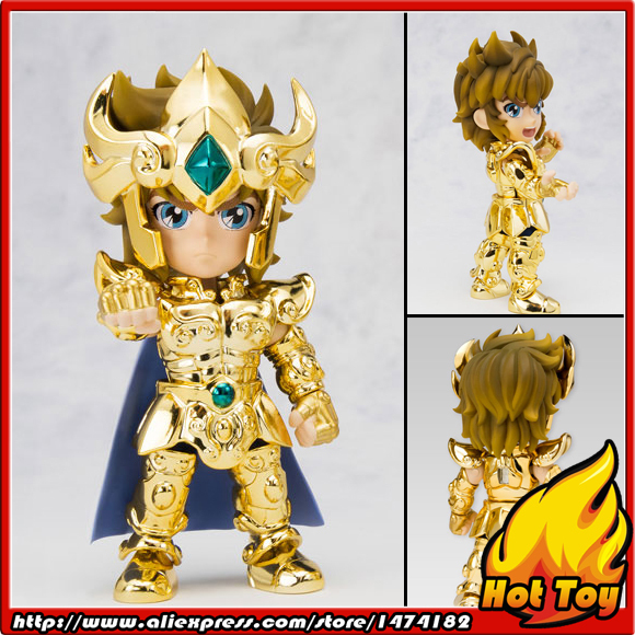 "100% Original BANDAI Tamashii Nations Saint Seiya Daizenshuu Collection Toy Figure   Leo Aiolia from ""Saint Seiya"""