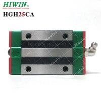 1pcs HIWIN HGH25CA linear guide rail slider for 25mm diy cnc rails High efficiency HGH25