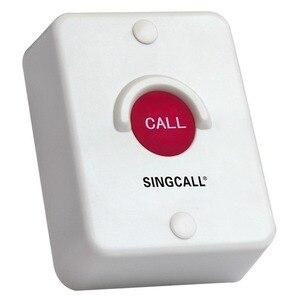 Image 3 - Sistema di chiamata Wireless SINGCALL, pulsante in silice rossa, impermeabile, resistente al sole, antipolvere, antiurto, cercapersone a un pulsante (APE510)