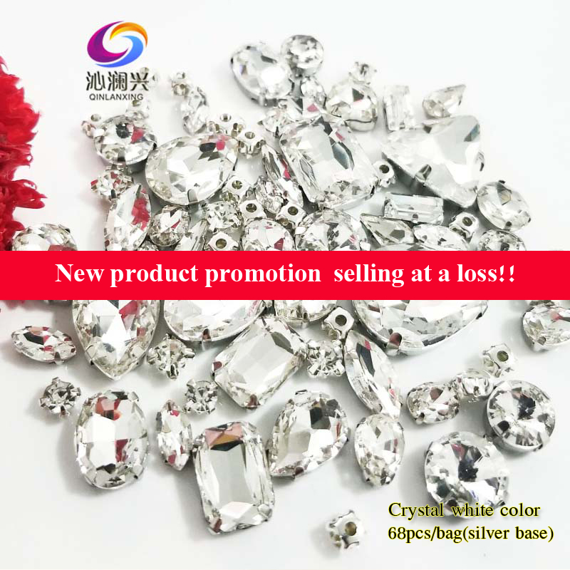 LOVE 4x NEW Fixed Mix Round Hollow Rhinestone Click Snap Button Jewelry Findings