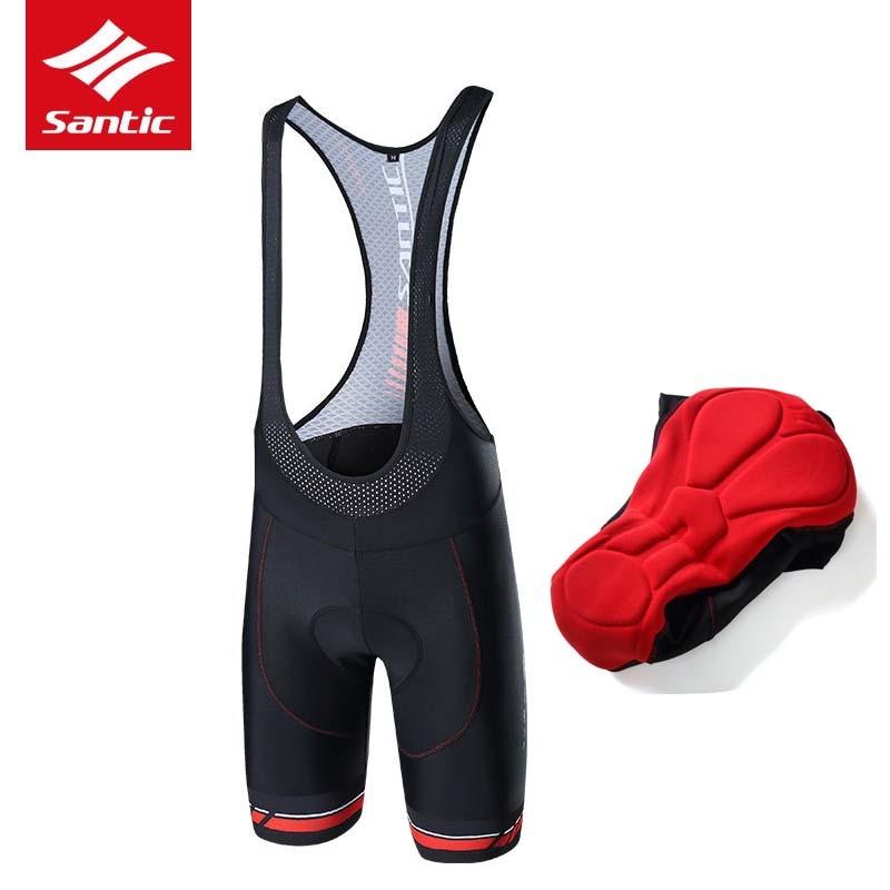 Santic Men Cycling Shorts Anti-sweat Pro Gel Padded Bike Shorts DH Downhill  2018 Road Bicycle Shorts Bermuda Ciclismo S-3XL 4177d60a3