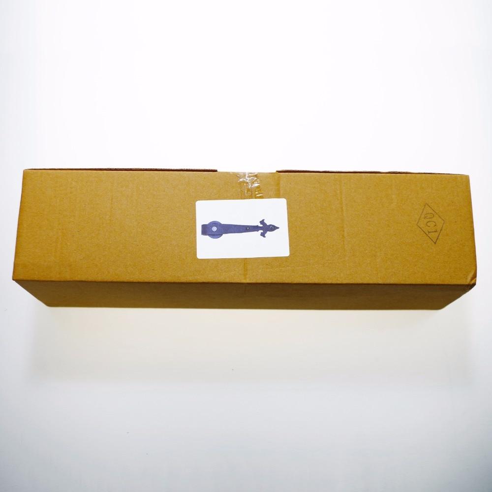 LWZH 14ft/15ft Sliding Barn Door Hardware Kit Flower Arrow Shaped Black Carton Steel Sliding Closet Track Set for Single Door