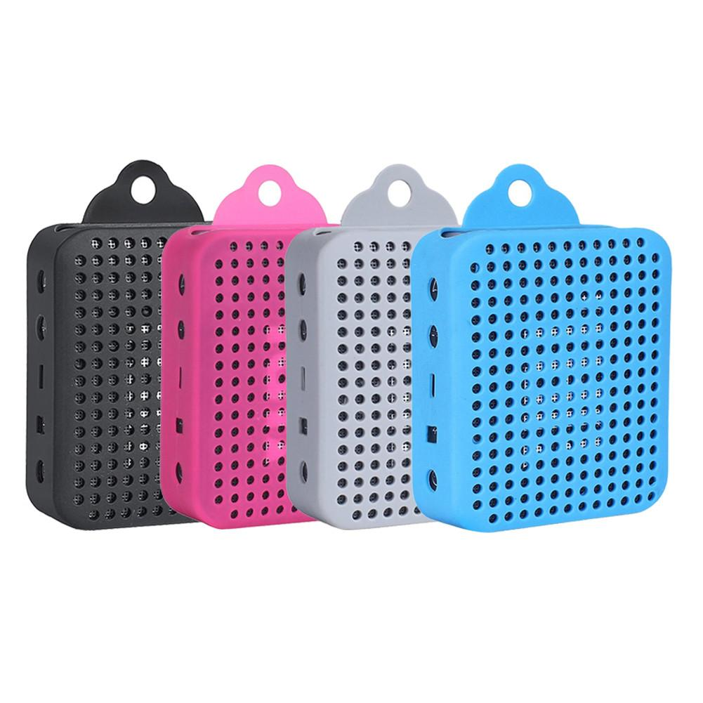 Bluetooth Speaker Carrying Case Protective Silicone Case For  JBL GO 2 Crash Protection Speaker Black, White, Pink, Blue