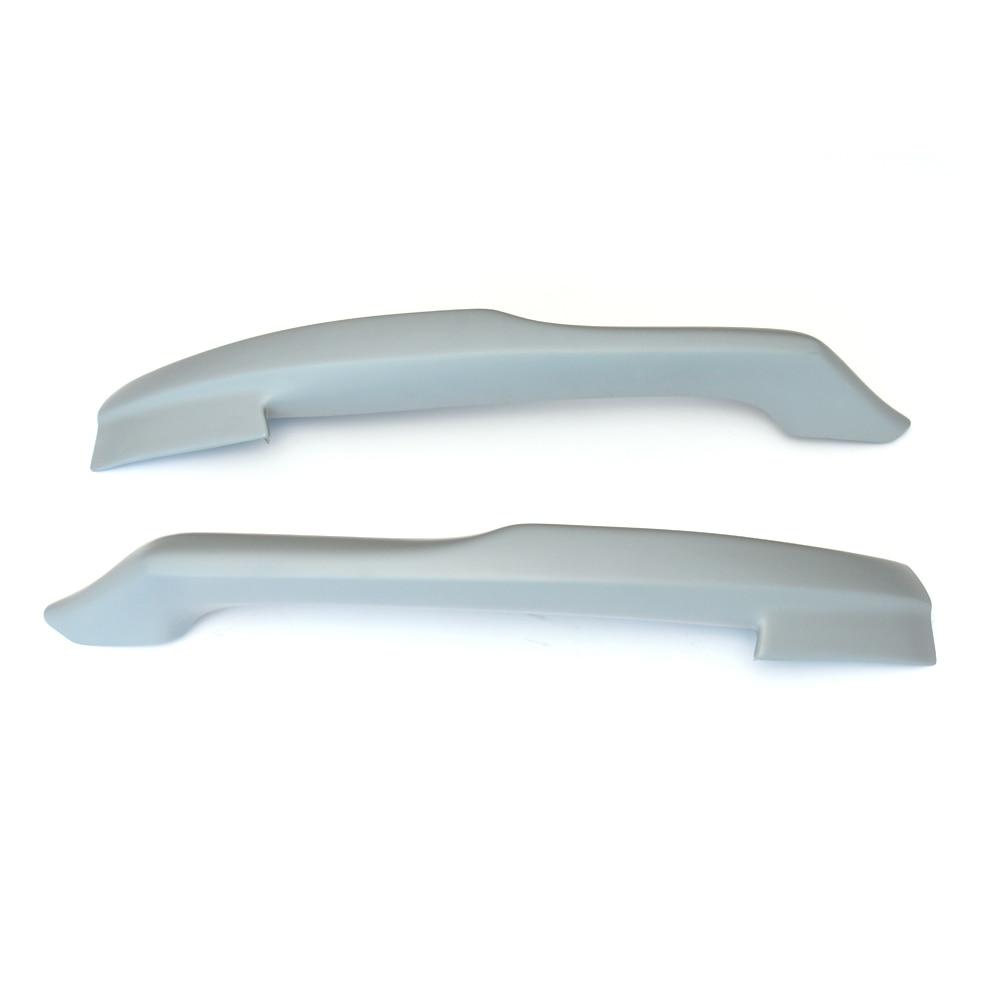 Car Style FRP front splitter front bumper spoiler lip for Audi A4 B8 standard bumper 2009-2012