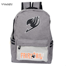 Japan Anime Harajuku Backpack Mochila Escolar Fairy Tail School Bag