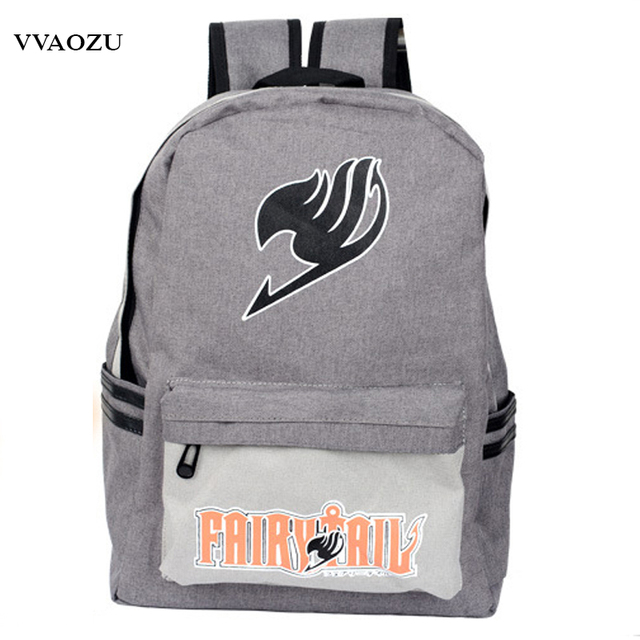 Japan Anime Harajuku Backpack Mochila Escolar Fairy Tail School Bag