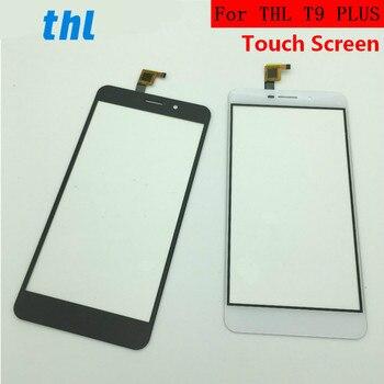 5,5 дюймов для THL t9 PLUS сенсорный экран Переднее стекло Сенсорная панель Замена внешняя панель Крышка объектива Запасная часть