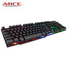 iMice Game Backlit Gaming Mechanical Keyboard With Backlight RGB Gamer For Computer PC Laptop LED Keycaps Key Cap Board Keybord цена и фото