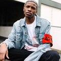 424 ЧЕТЫРЕ ДВА ЧЕТЫРЕ НА FAIRFAX Страх божий Куртки Мужчины Женщины джинсы Высокое Качество 1:1 Уличные Отверстия Стиль Хип-Хоп Yeezy 424 Куртка