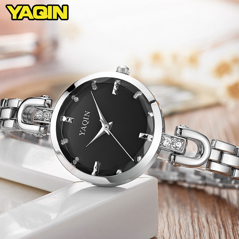 YAQIN Fashion Women Watches 2017 High Quality Ultra Thin Quartz Watch Women Elegant Dresses Hand Watch Women Montreux Femme