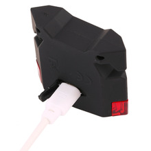 LEADBIKE 4 LED Mountain Bike Rear Tail Light Waterproof USB Rechargeable Lamp